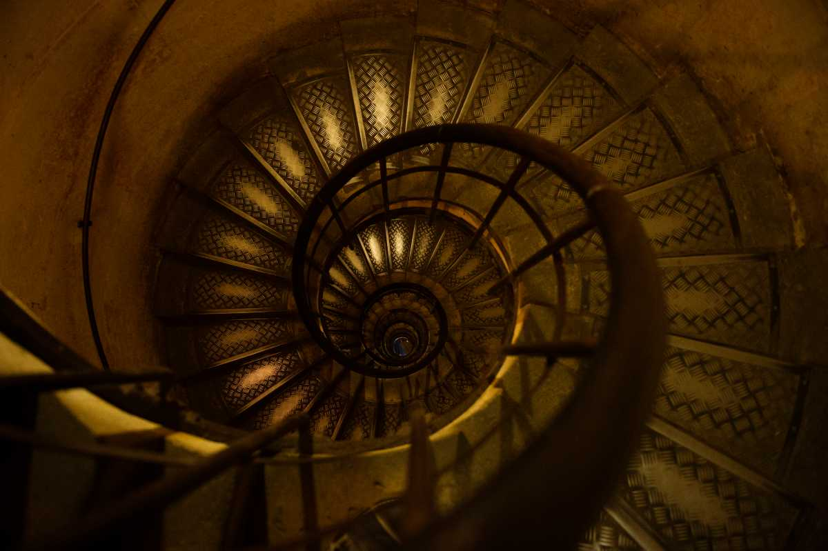 Stairway to the Observation Deck, Arc de Triomphe