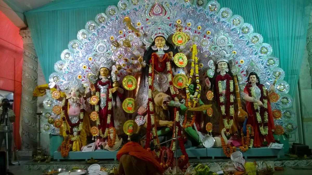Matri Mandir Durga Puja