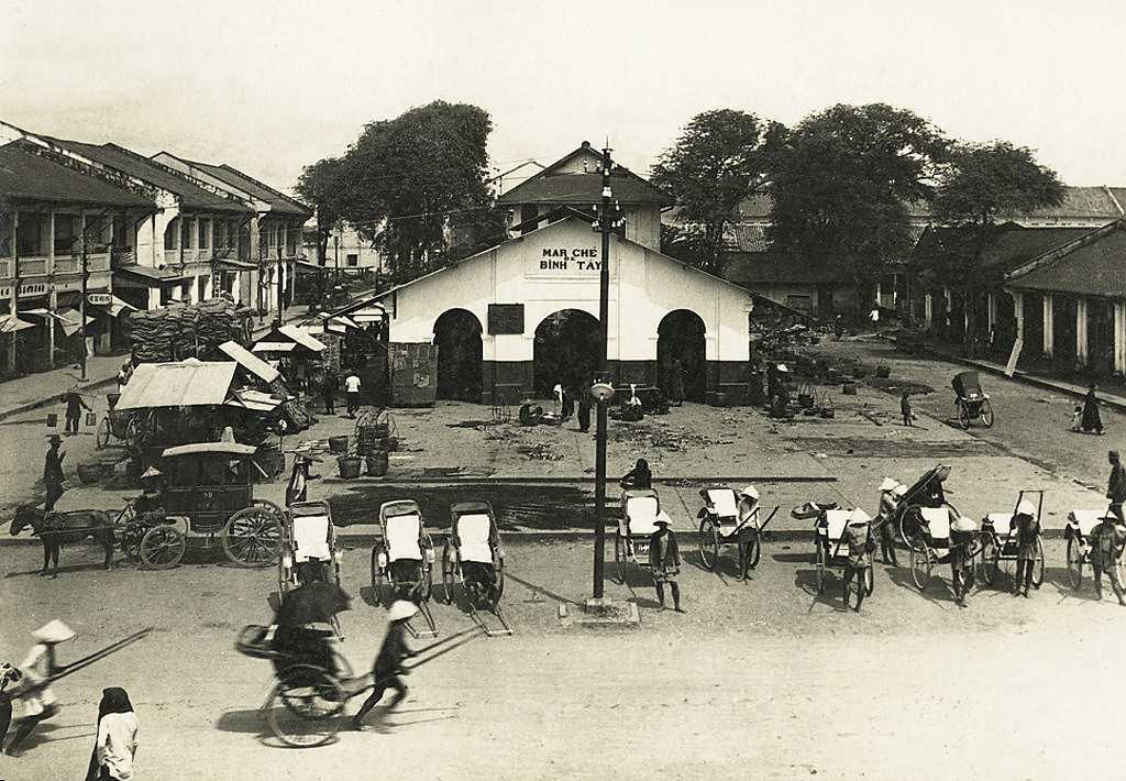 Binh Tay Market in the 1880s