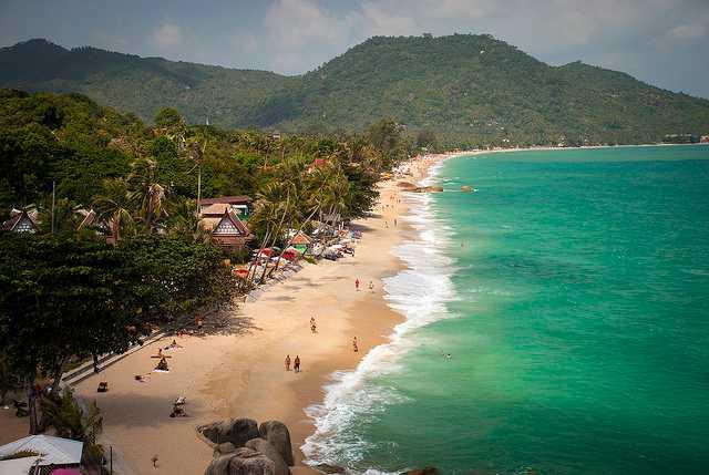 Lamai Beach, Family Places in Koh Samui
