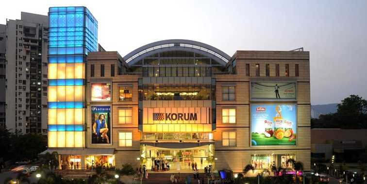 malls in mumbai, korum mall