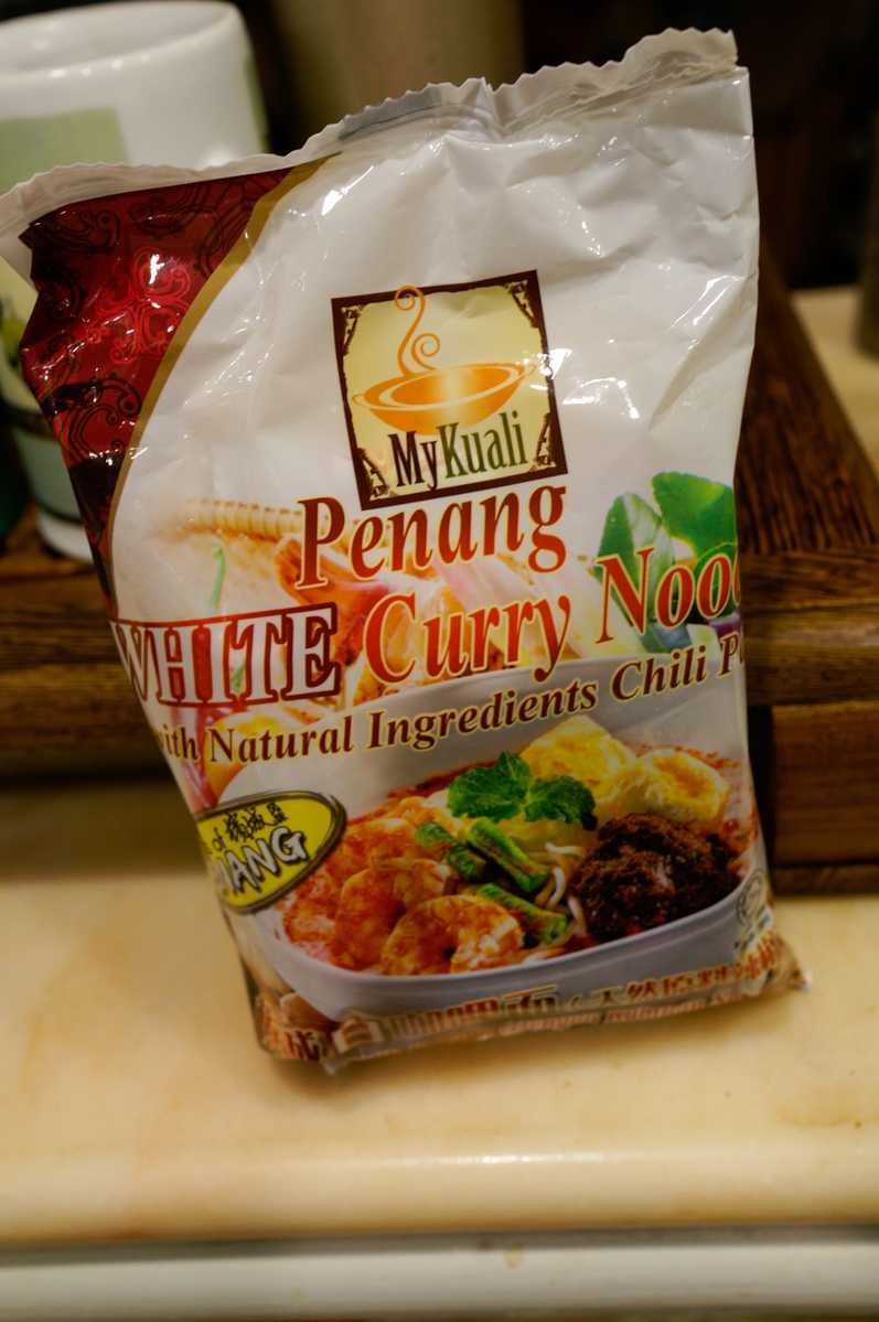 White Curry Instant Noodles from MyKuali Penang