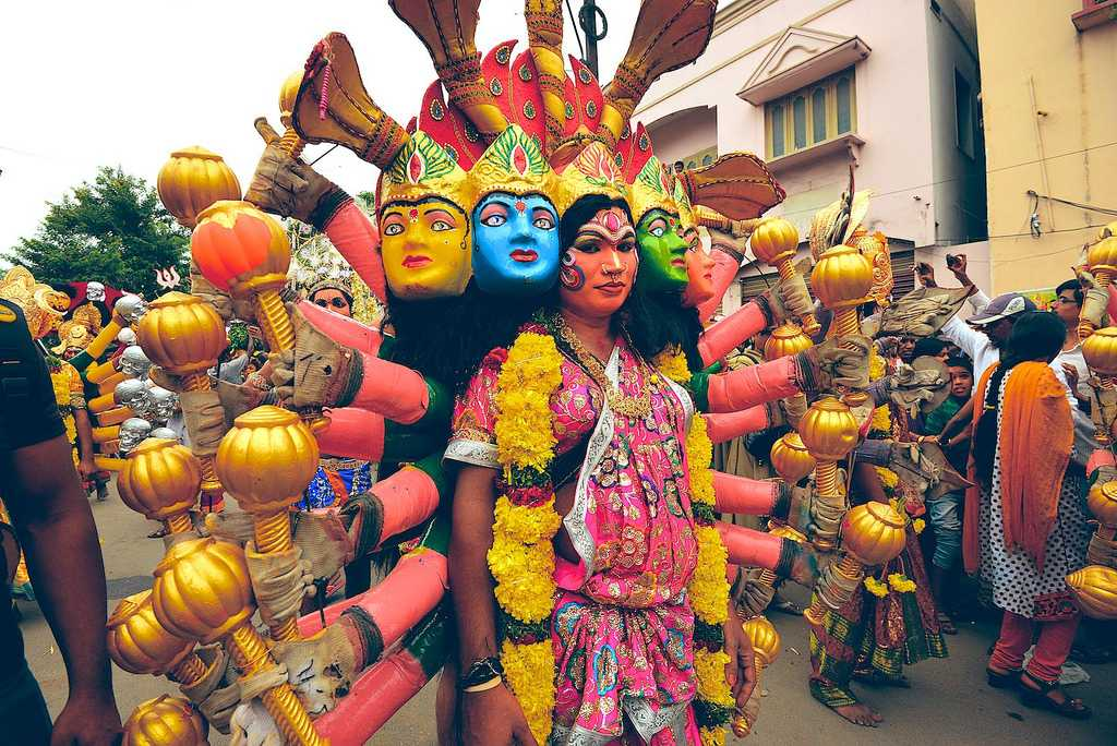 culture of hyderabad, Bonalu festival