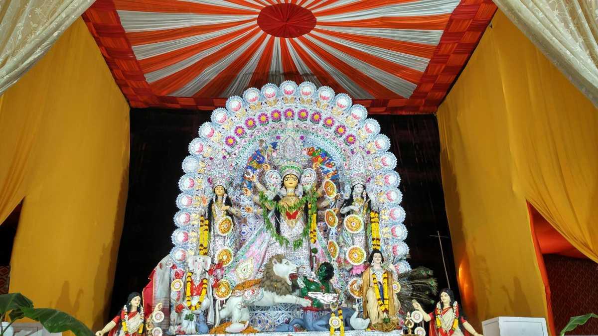 Kashmere Gate Durga Puja