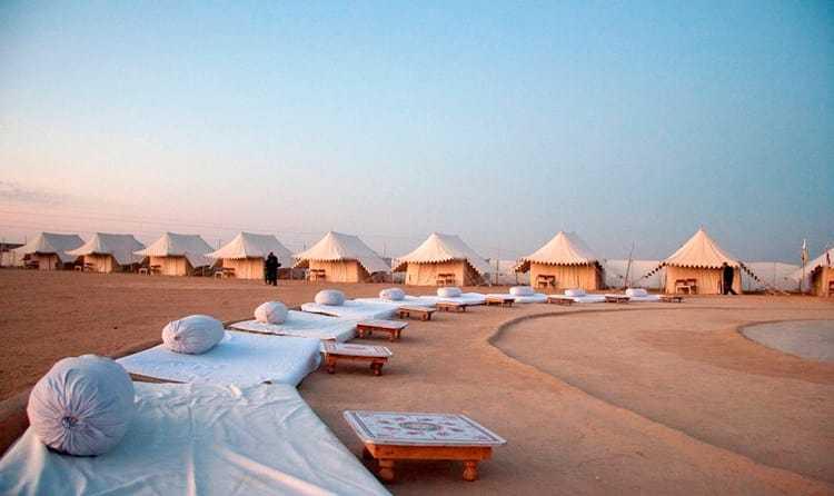 Spend NYE On A Desert Camp Near Jaisalmer