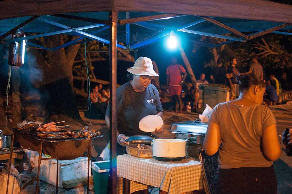 Nightmarket in Seychelles