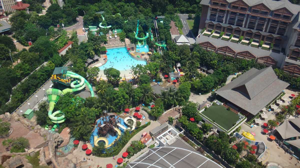 Adventure Cove Waterpark, Singapore With Kids