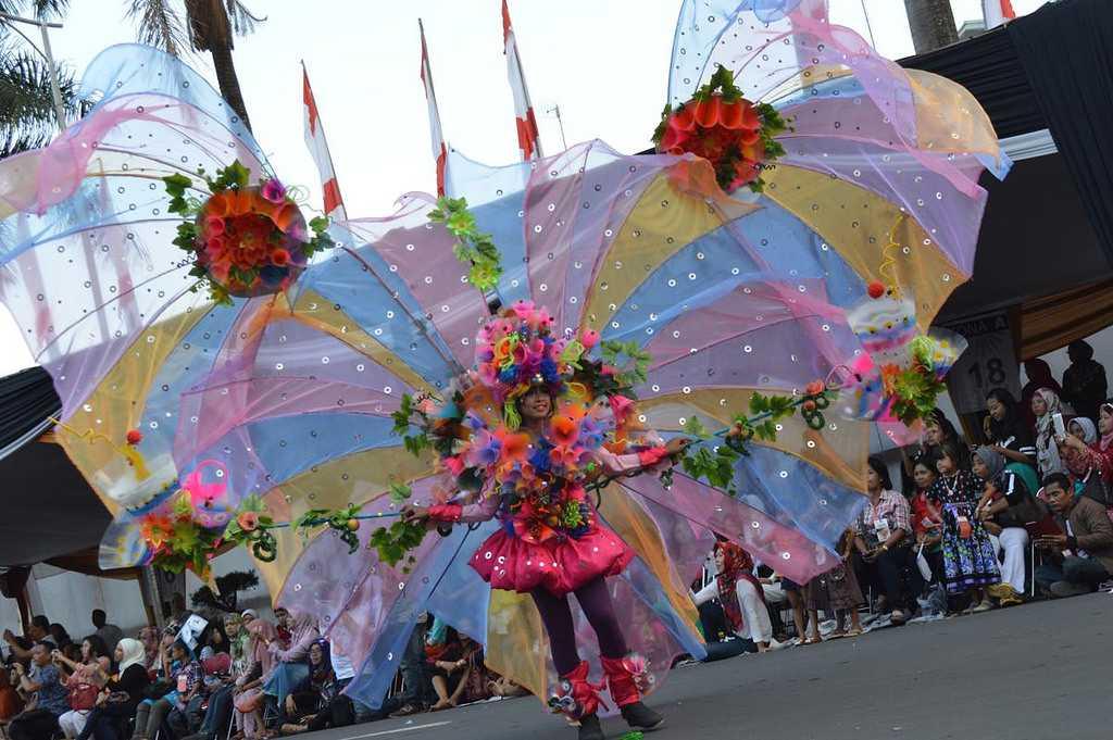 Jember Fashion Carnaval in Indonesia