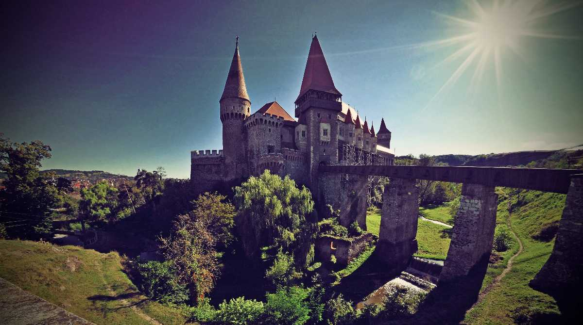 Corvin Castle, most Haunted places in the world