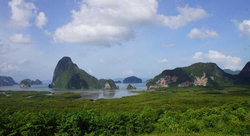 Samet Nangshe Viewpoint, Landscapes of Thailand