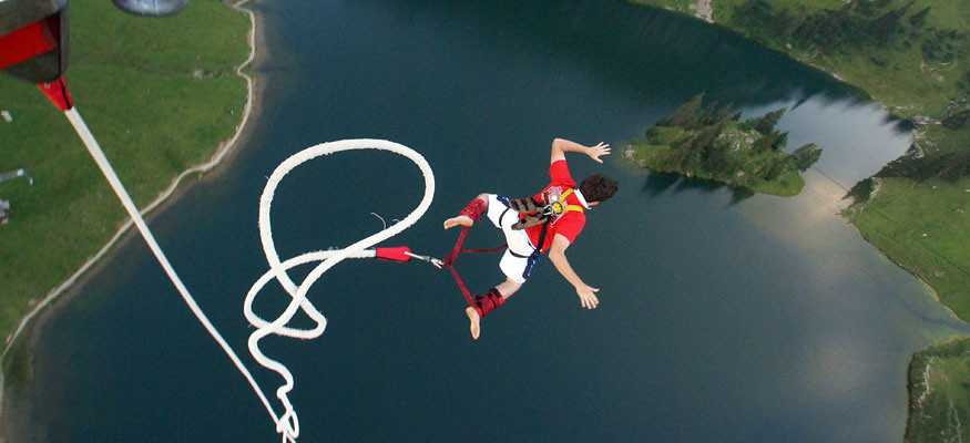 Bungee in pokhara