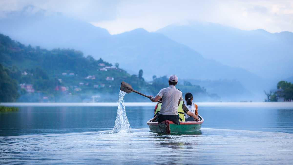 Phewa Lake, Viewpoints in Pokhara