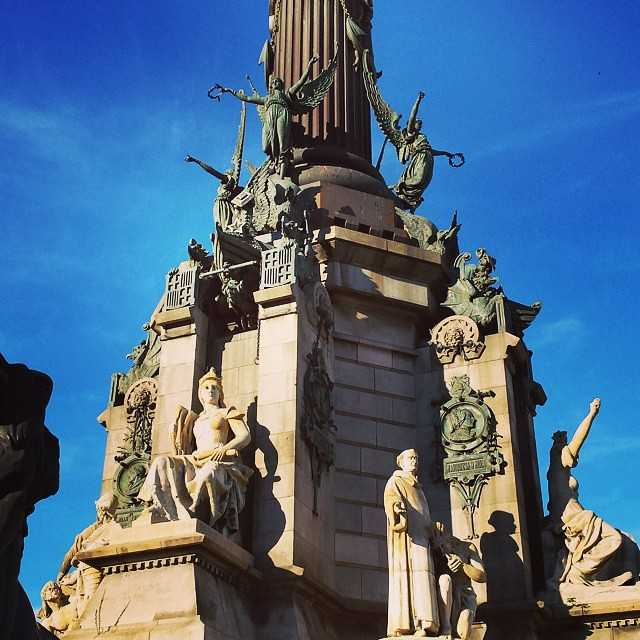 Architecture of the Columbus Monument, Barcelona