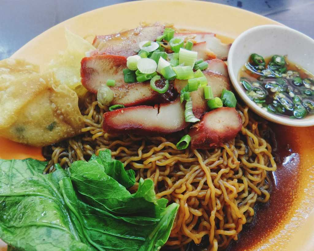 Wantan Mee, Street Food in Kuala Lumpur