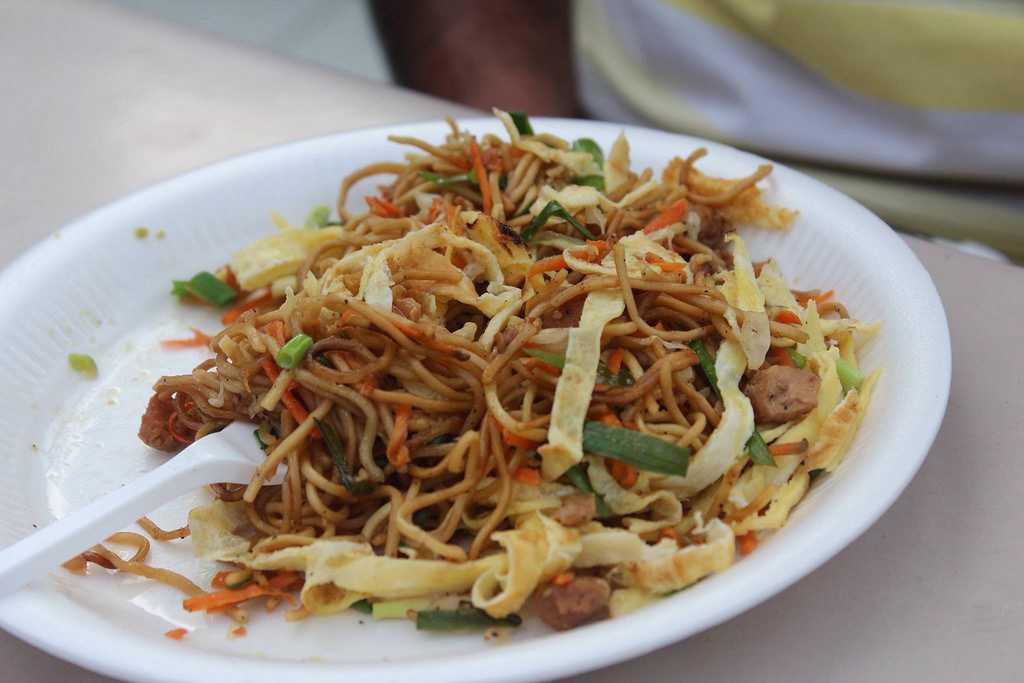 Min Frite, Mauritius street food