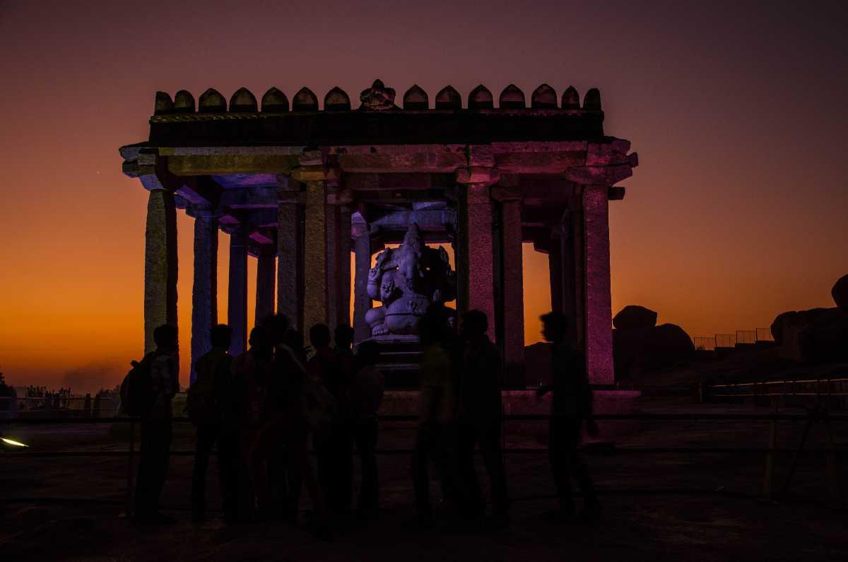 Sasivekalu Ganesha - Hampi Utsav
