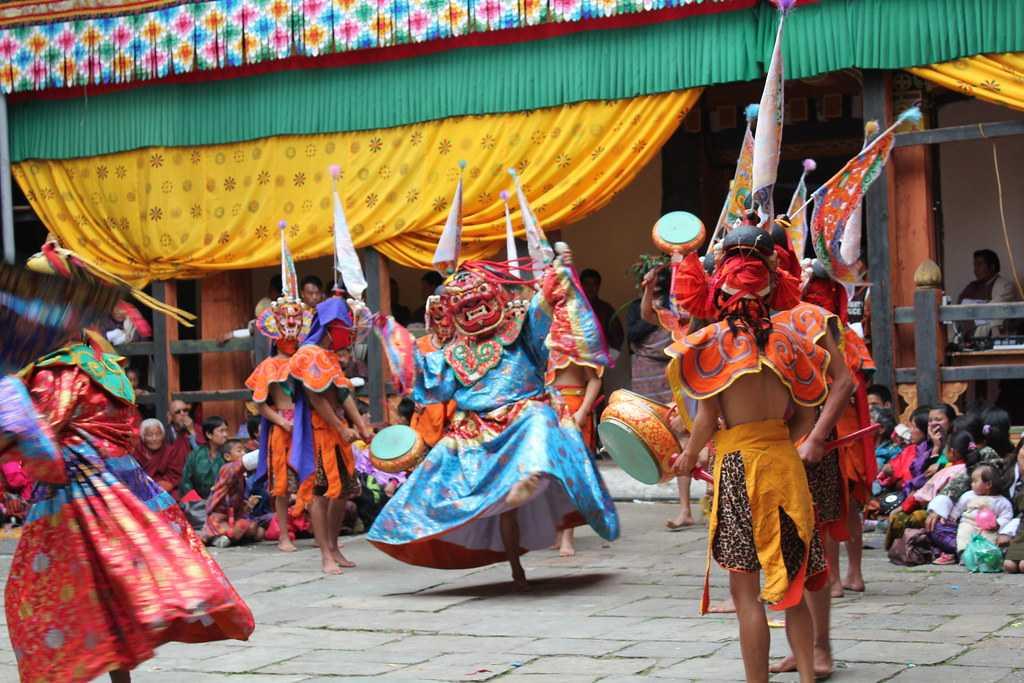 Cham Dances of Bhutan