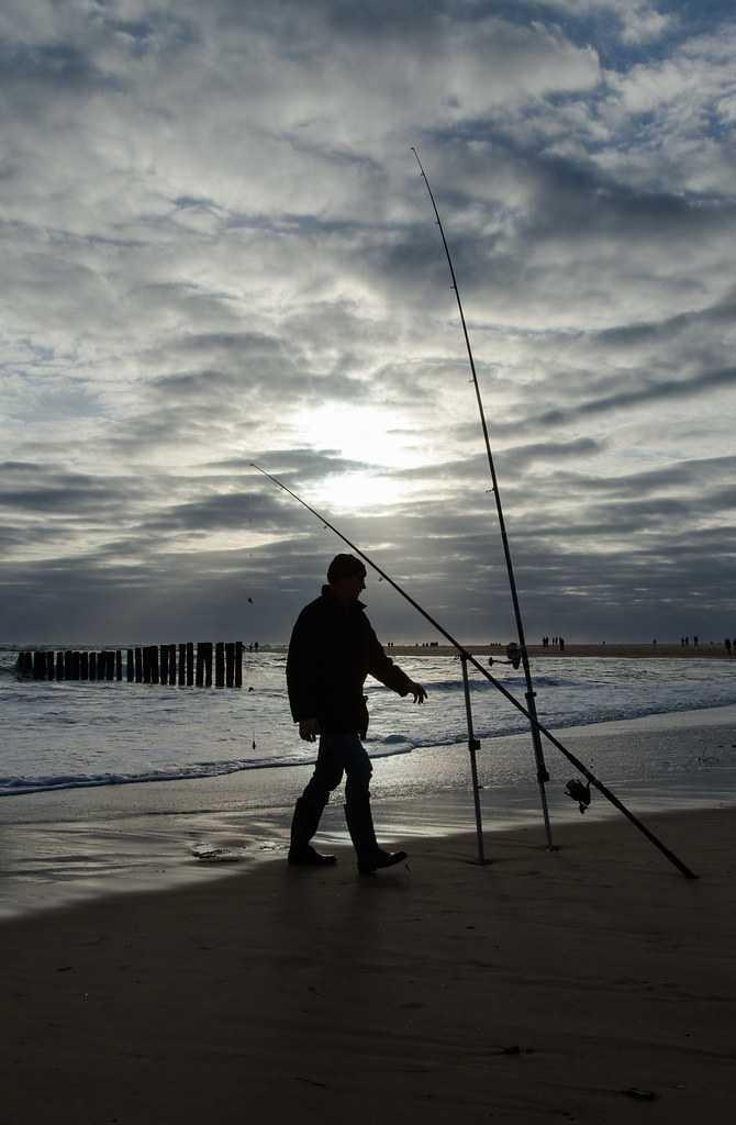 Fishing Poles in Raya Islands, Phuket