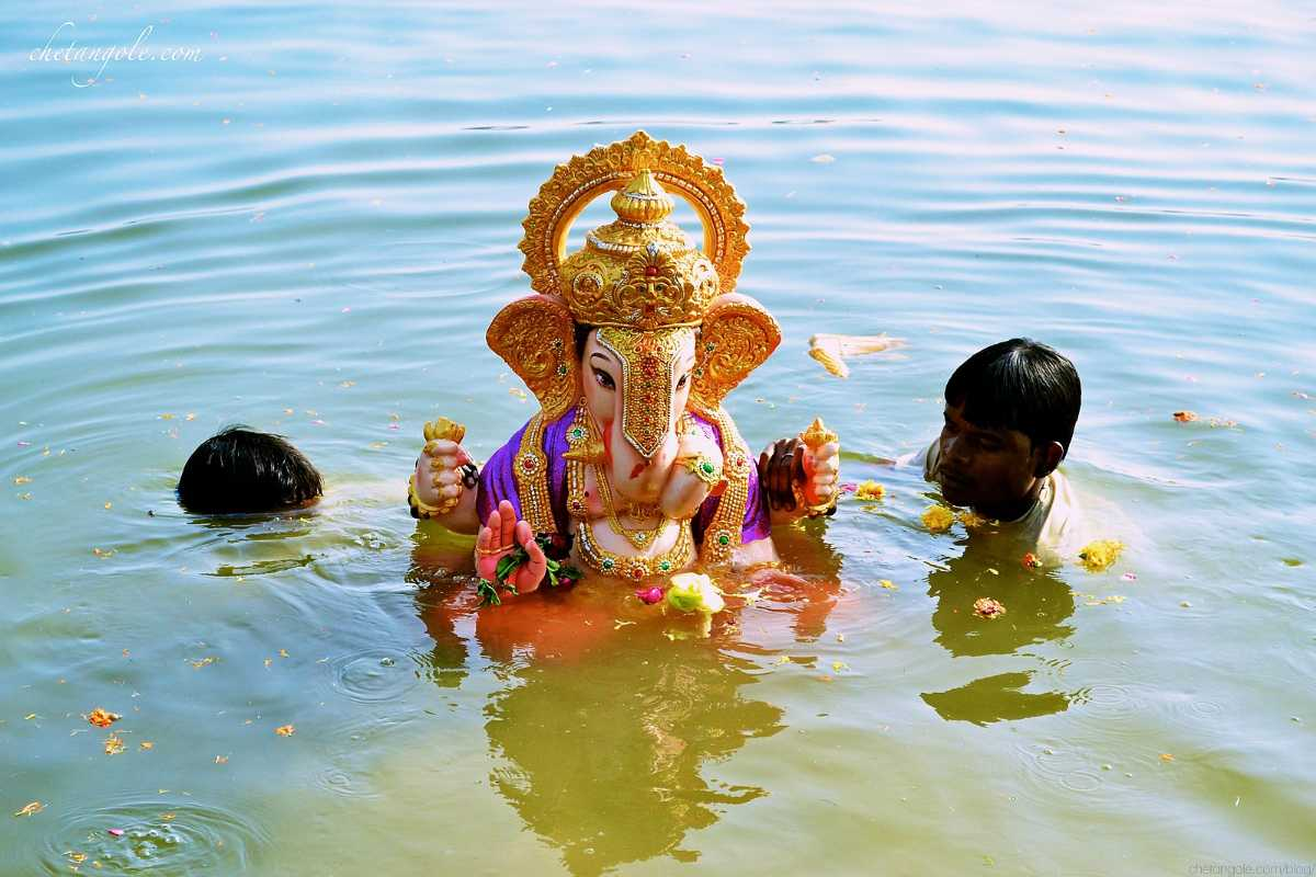 Ganesh Chaturthi - Immersion of idols