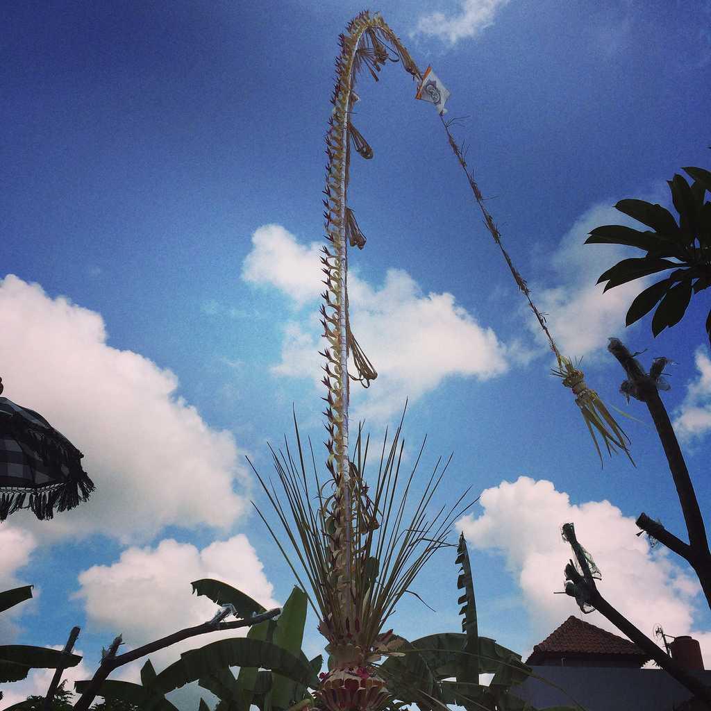 Galungan Festival in Bali Indonesia