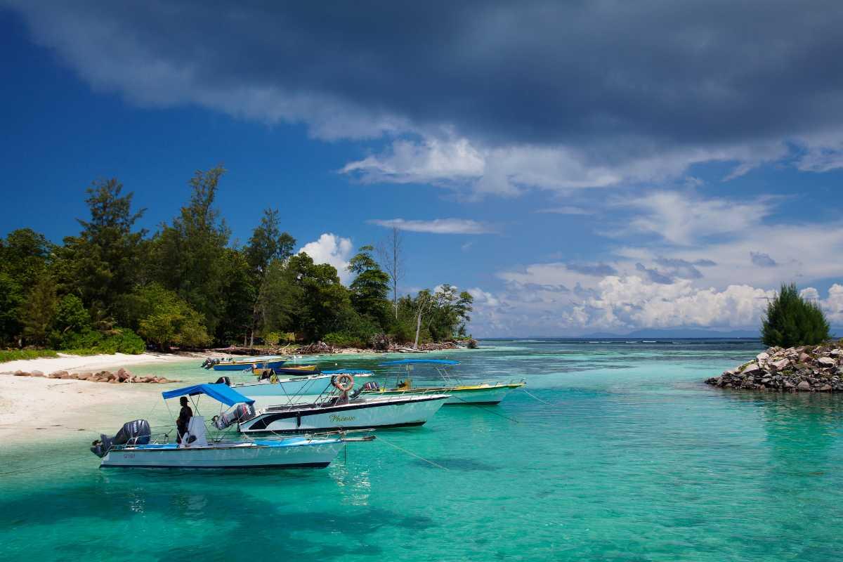 La Passe, La Digue Island Seychelles