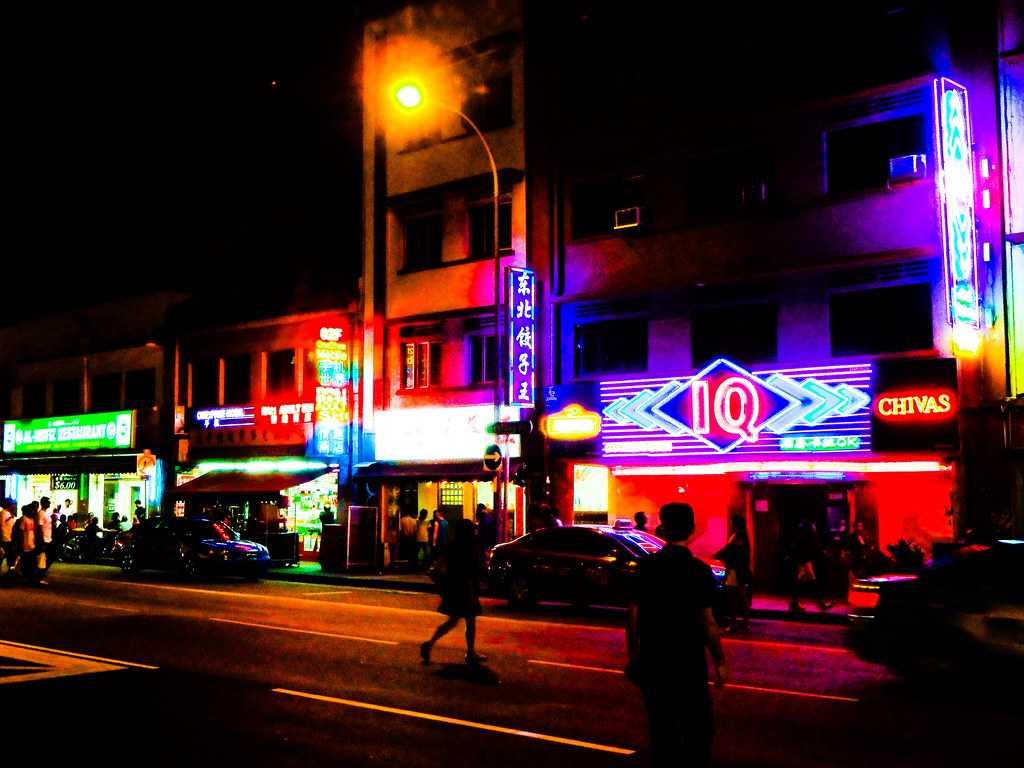 Geylang, Nightlife in Singapore