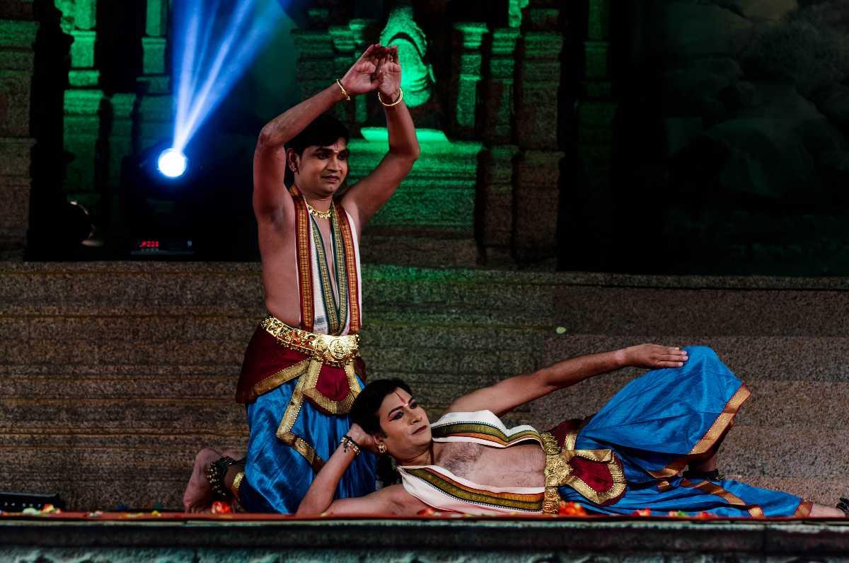 Bharatnatyam during Hampi Utsav