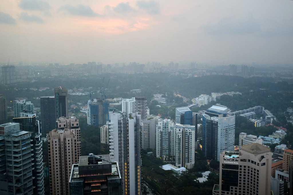 View from ION SKy Singapore