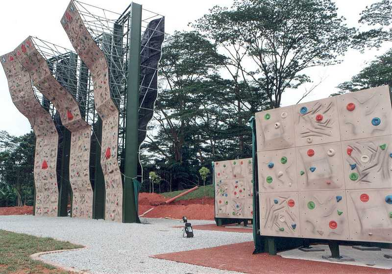 Safra Adventure Sports Centre for Rock Climbing in Singapore