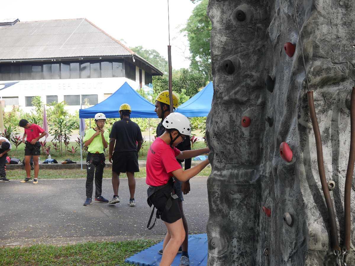 X Sports, Rock Climbing in Singapore