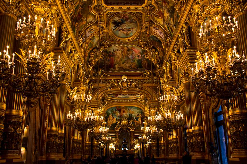 Interior of the Palais Garnier