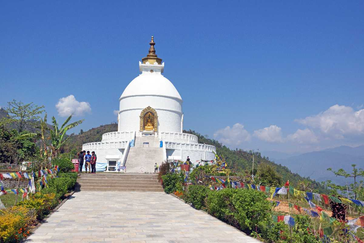 World Peace Stupa, Viewpoints in Pokhara