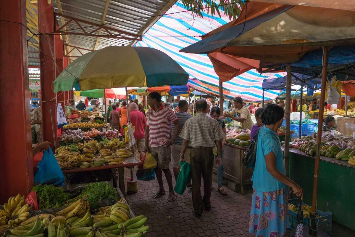 Sir Selwyn Clarke Market Seychelles