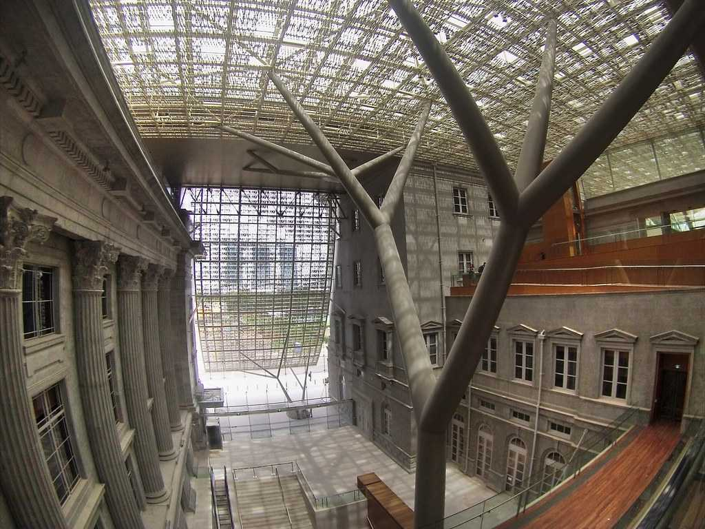 National gallery in Singapore