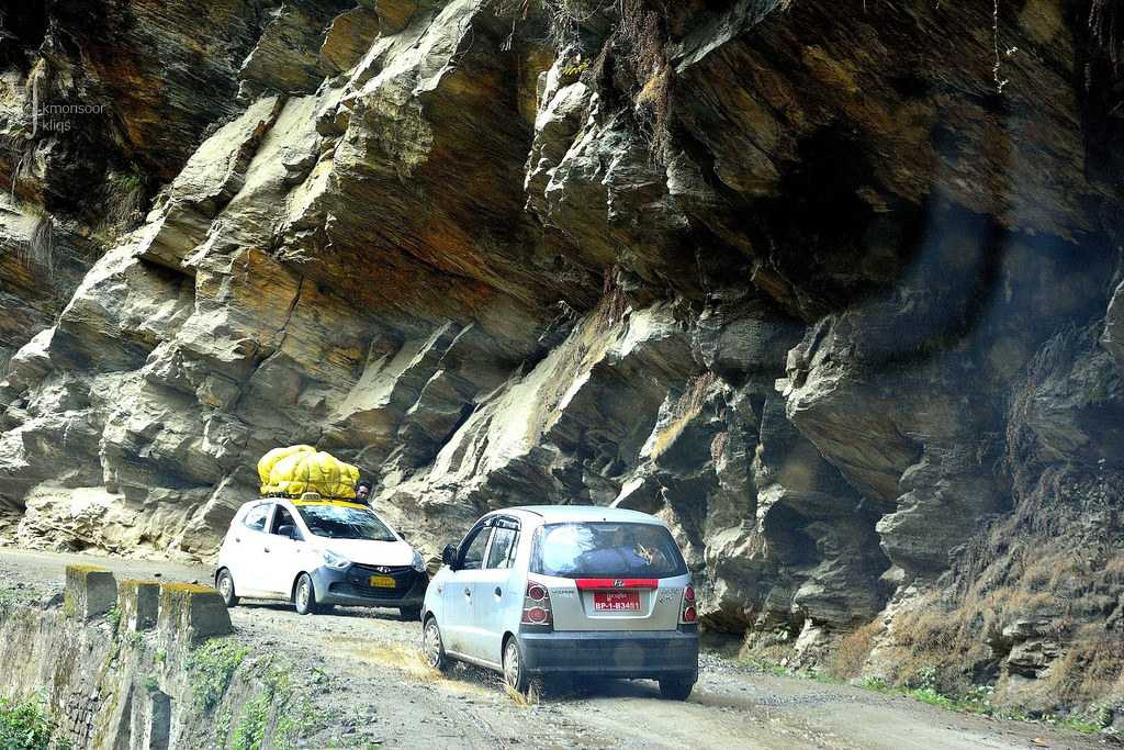 Driving Your Own Car in Bhutan