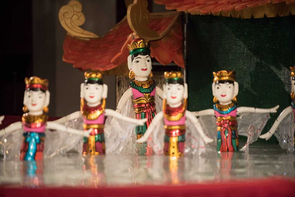 Water Puppets at Golden Dragon Water Puppet Theater Ho Chi Minh City