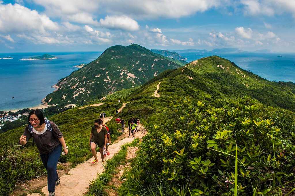 Dragon's Back Hike, Hong Kong