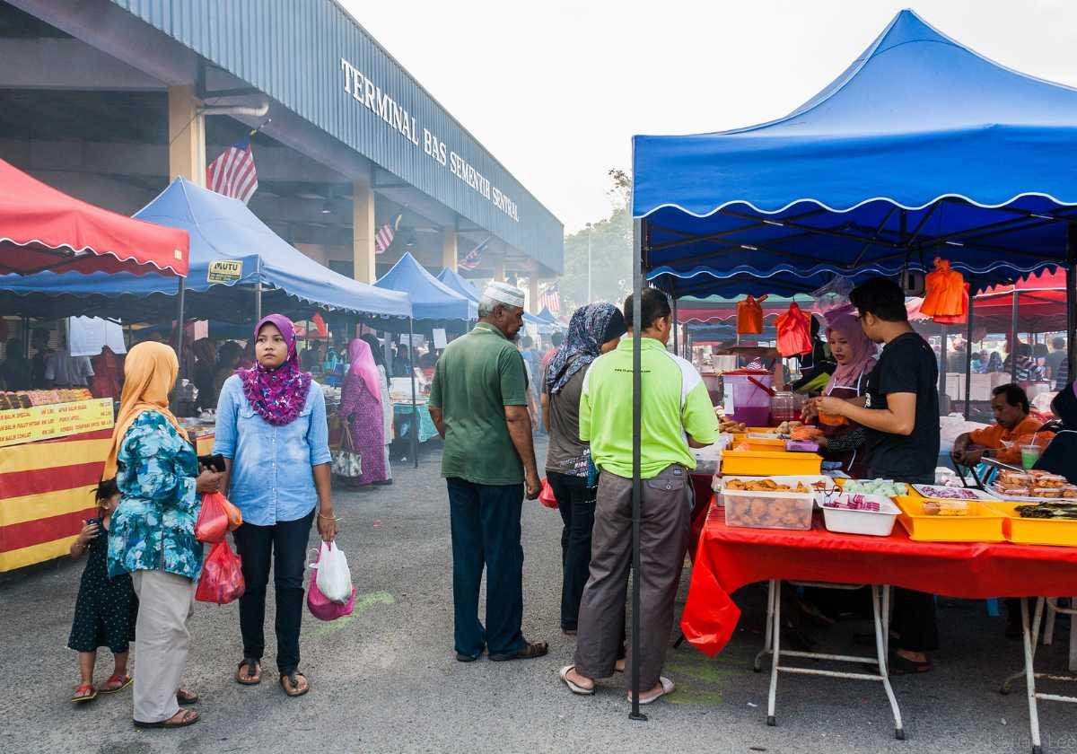 Local Ramadan Bazaars in Malaysia