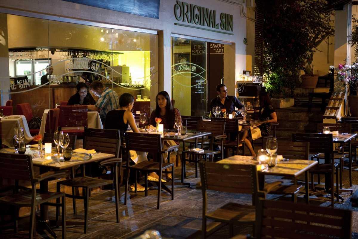 Original Sin, Vegetarian Restaurants in Singapore
