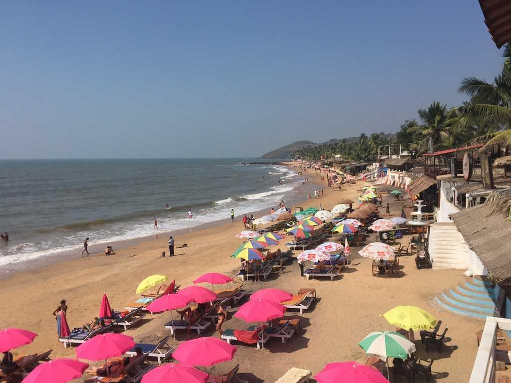 Anjuna Beach, Honeymoon in Goa