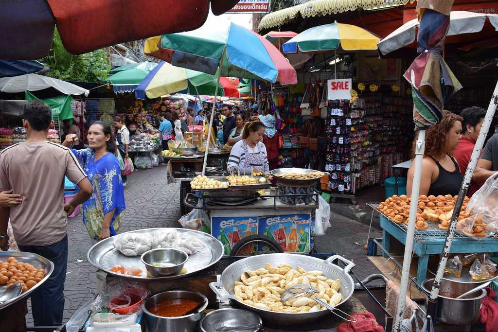 Street Food at Chinatown Bangkok