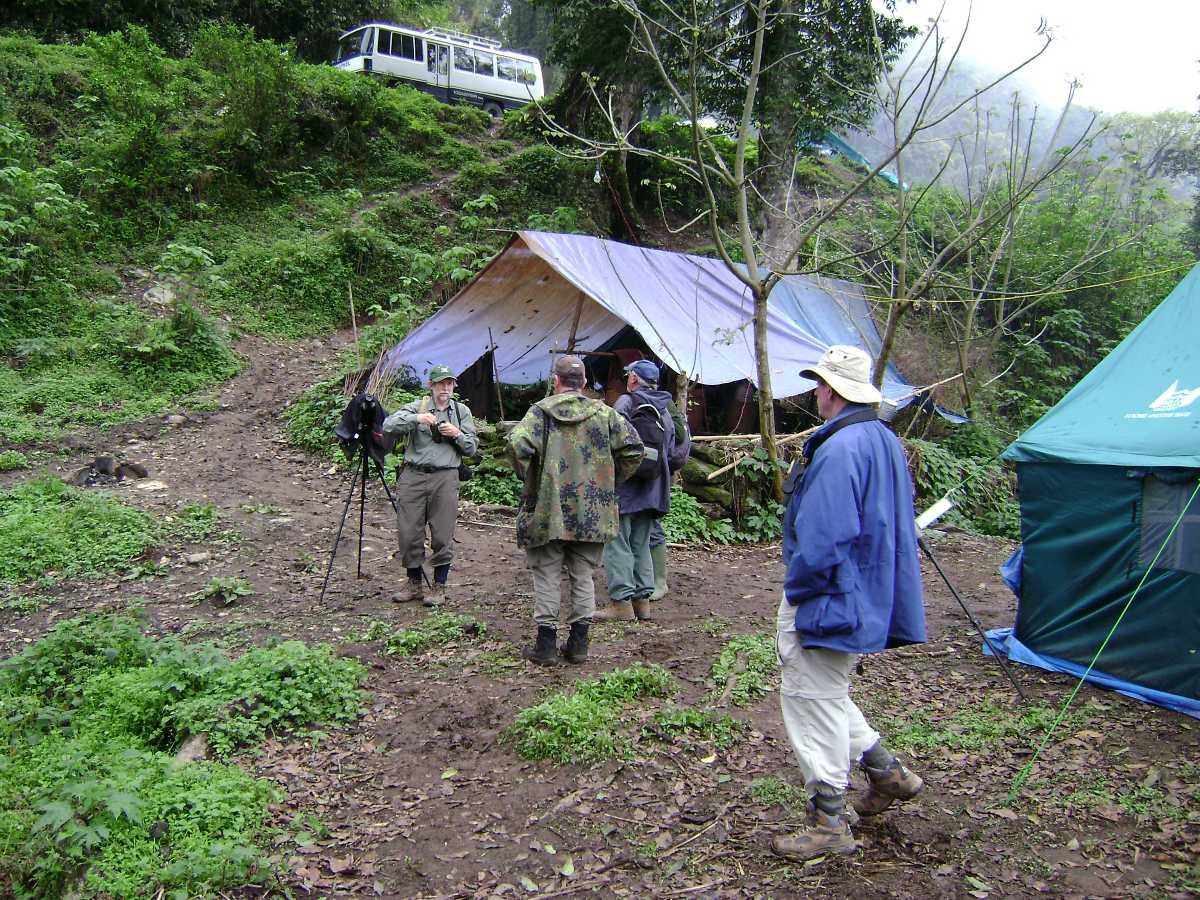 Camping in Bhutan