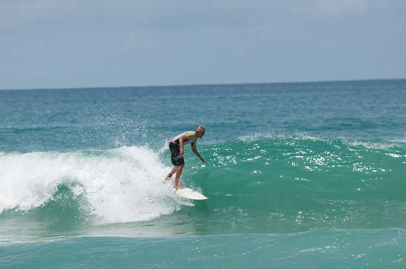 surfing in thailand, surin beach