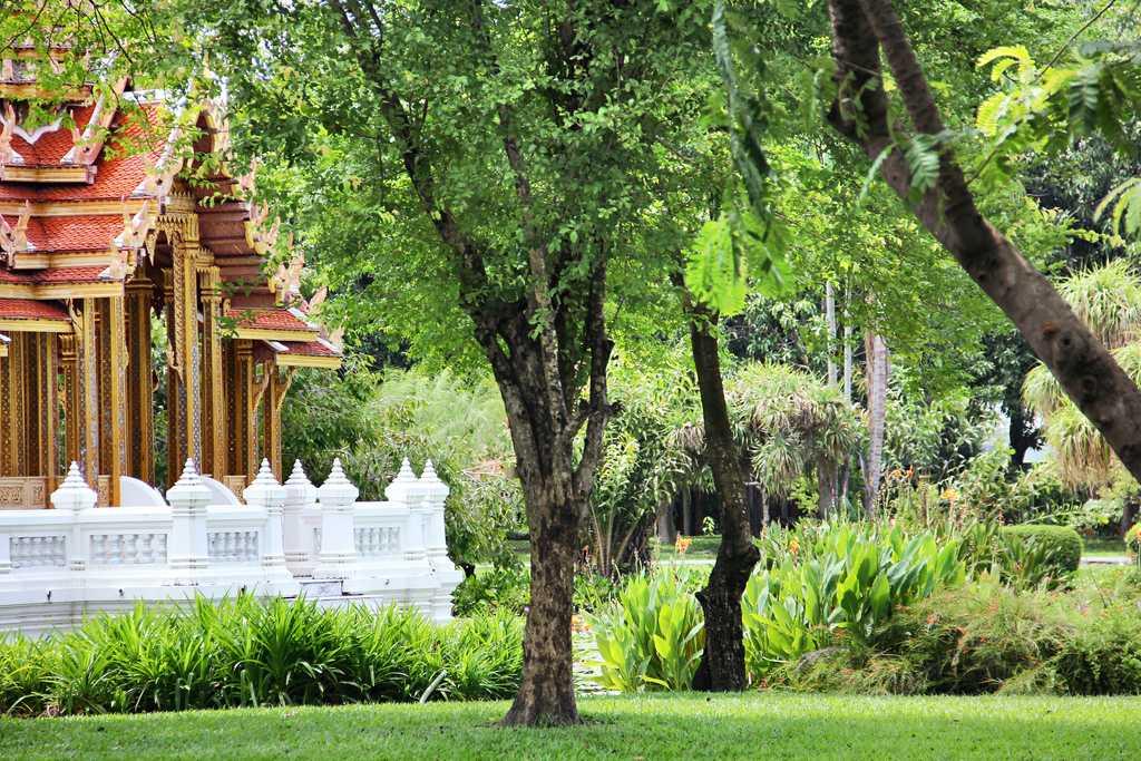 parks in bangkok, rama park