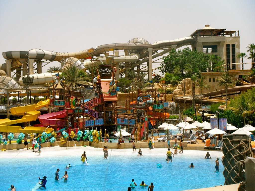 waterparks in dubai, wild wadi
