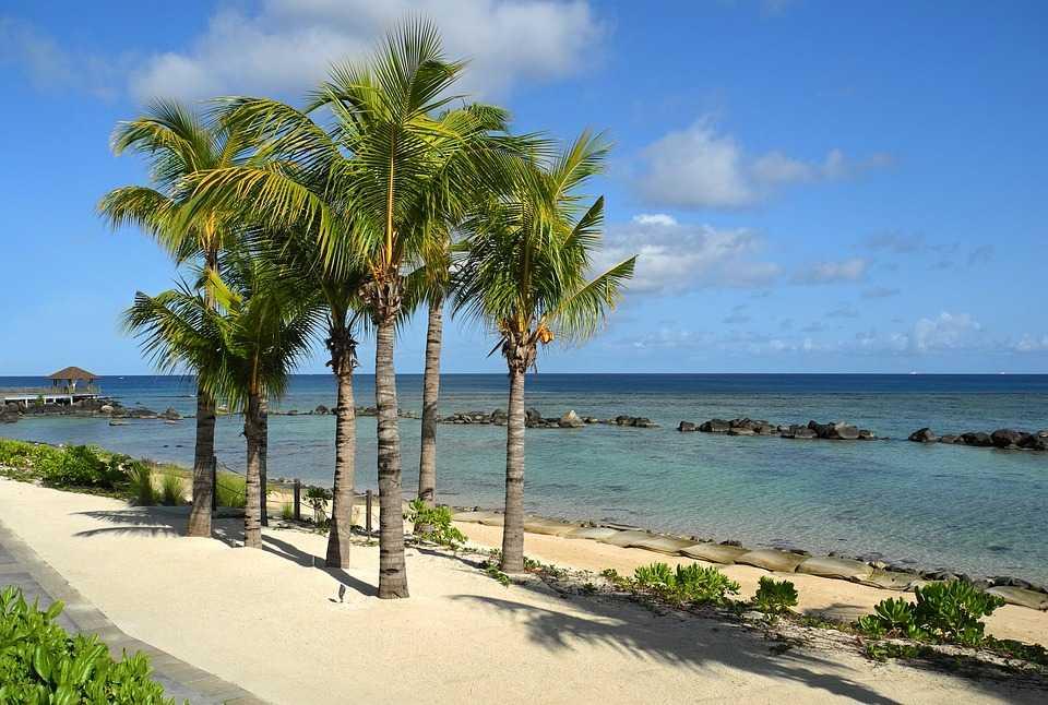 Mauritius island, Mauritius in December