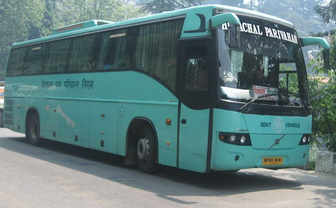 Shimla to Manali by Bus