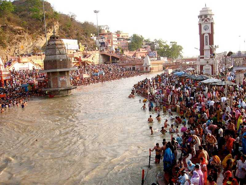 Ganga Dussera Festival in Haridwar