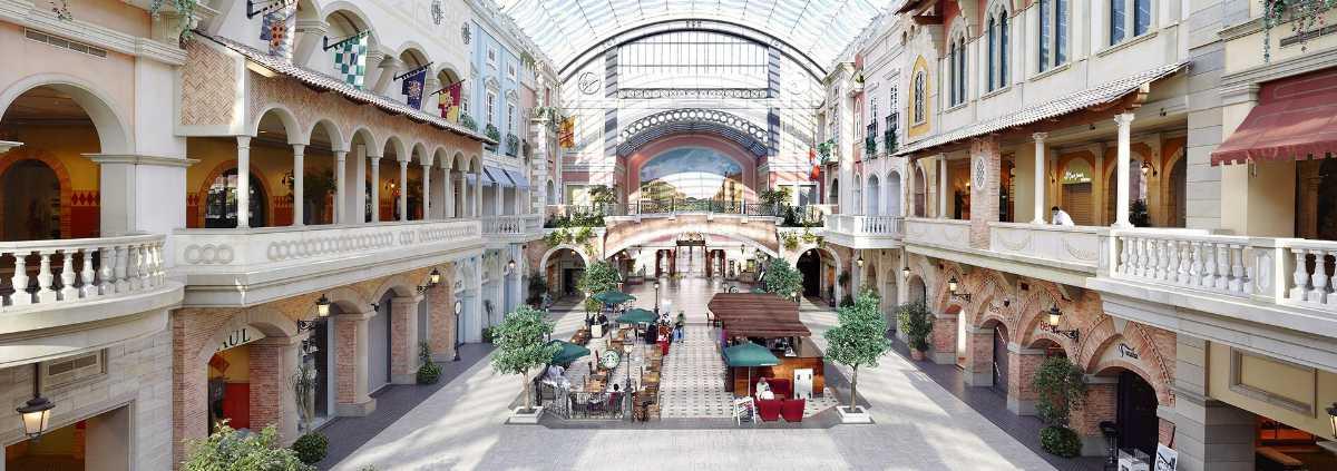 Mercato Shopping Mall Dubai