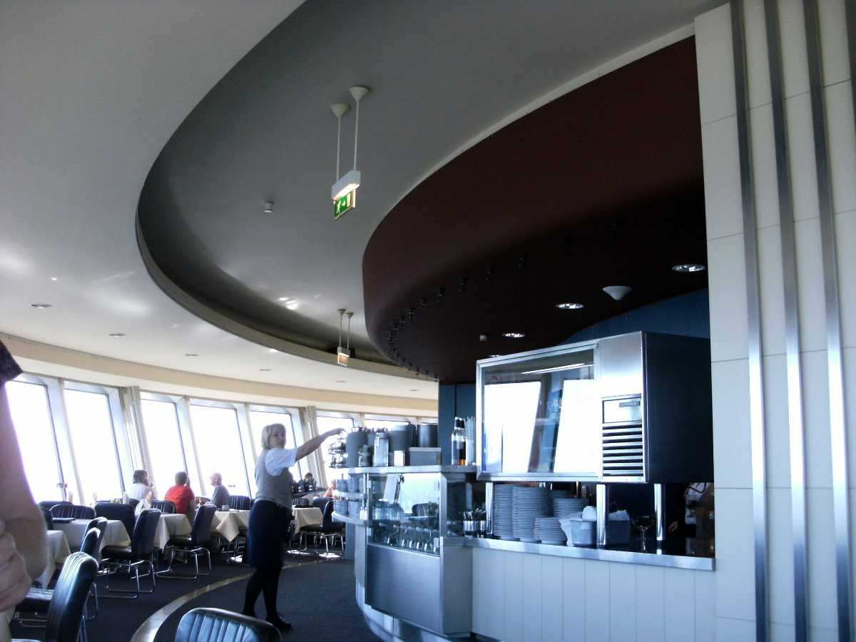 Panorama Cafe, Observation Deck, Fernsehturm, Berlin